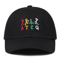 2021 spring summer ATCQ color letter baseball cap for men fashion hip hop wild couple hat outdoor casual Shading hat