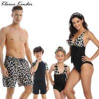 Women's Swimwear Family Matching Swimsuit Girls Boys Mom Daughter Bikini Dad Son Swim Shorts Women Men Couples Bath Suits Beach Outfits