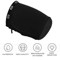Outdoor Bags Double Pocket Large Capacity Mobile Phone Yoga Elastic Fitness Universal Fit Running Zipper Gym Workouts Sports Armband Arm Bag