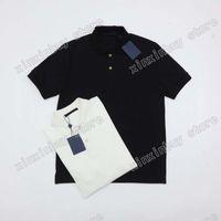 21SS Männer gedruckt T-shirts Designer Paris 3D Briefmuster Druck Kleidung Kurzarm Herren Hemd Tag Weiß Schwarz
