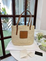 Woven Loew Straw Luxury Designer Vegetable Basket Bag Women 2021 New Hand Large Capacity Shopping Bag Tote Beach Womentop Quality Zmm