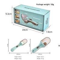 Выпечка кухонный инструмент для выпечки Регулируемая измерительная ложка измерения чашки ложки совок набор пластиковых измерительных наборов HWD6859