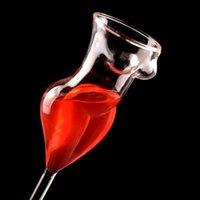 نظارات النبيذ الإبداعية الزجاج مثير عارية كأس الجدة البيرة كأس الكريستال الويسكي الفودكا القهوة القدح drinkware بار الإمدادات