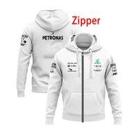 Vestes F1 Mercedes-benz AMG voiture automne hiver veste pour hommes manteau à capuchon occasionnel zippot sweat-shirt de mode mode Homme à capuche