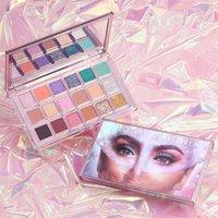 Huda Beauty Mercury Eyes Makeup Shadows Palette 18 colors Eyeshadow Palettes Matte Shimmer Rose Eye Shadow Paletes