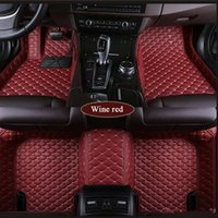 Fit for G37 2008~2013 leather Car Floor Mats Waterproof Mat All-weather