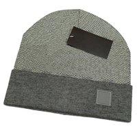 Fashion Designer Hommes Bonnet Hiver Haute Qualité Unisexe Coton tricoté Chapeau chaleur de Sports classiques Casquettes de crâne Dames Casual Casual Stripe Cap Bonnets 13Couleurs