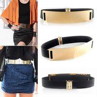 Belts 5 Colors Fashion Designer For Lady Gold Silver Brand Femme Classy Elastic Ceinture Women's Belt Ladies Apparel Accessory