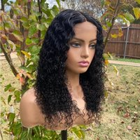 Glueless macio peruca encaracolado peruca preto cor preta dianteira peruca sintética com cabelo de bebê cabelo natural para mulheres cosplay