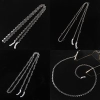 Other Fashion Accessories Stainless Steel Heart Sunglasses Chain Eyeglass Chains Anti-slip Eyewear Cord Holder Neck Strap Reading Glasses Ro
