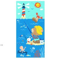 Microfiber Beach Towels Super Soft Bath Pool Towel Quick Dry Absorbent Blanket For Kids Teens Adults Travel Gym Camping Pools Yoga BWD7635