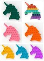 Fidget Oyuncaklar Pot IT Unicorn Kabarcık Duyusal Oyuncak Çocuklar Silikon Stres Rahatlatıcı KidStoys Yetişkin Sıkmak