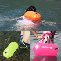 Pool & Accessories Inflatable Swimming Buoy Float Air Dry Bag Water Sport Diving Safety Bags Lifesaver Life