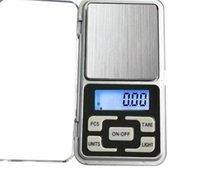 Мини Электронные цифровые масштабы ювелирных изделий весы весы весы Pocket Gram ЖК-дисплей с розничной коробкой 500 г / 0,1 г 200г / 0,01 г 293 v2