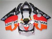 injection HONDA CBR600F4I CBR600 F4I 2001 2002 2003 fairings kits motorcycle parts cowling CBR 600F4I 2001-2002-2003 01 02 03 bodykits bodywork #REPSOL ORANGE RED