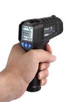 Termometro per la casa Termometro ad alta precisione Termometro a infrarossi Digitale Pro non contatto Temperatura IR Laser Igrometro LCD Display LCD PT380 / 600 Peaktools