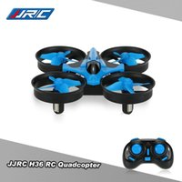 Original JJR / C H36 2.4G 4CH 6-Achsen Gyro 3D-Flip Headless Modus Ein-Schlüssel-Rückgabe Anti-Crush UFO RC-Quadkopter RTF-Drohnen-Drohnen