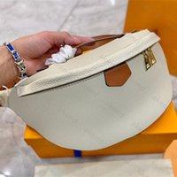 Top Quality Homens Mulheres Genuíno Bolsas De Couro Tote Bumbag Moda l Ombro Bag Carteira Bolsa Designer de Luxo Embossing Bolsas de Cintura Original Hobo Hobo Bolsa