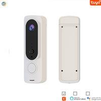 Tuya WiFi Video Doorbells Wireless Intercom Outdoor Door Camera HD 1080P resolution Smart Home Security SystemMonitor PIR AS-TY-WD002