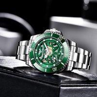 Orologio da uomo PAGANI Design Top Big Green quadrante meccanico scheletro Scheletro Sport Orologi Relogio Masculino PD-1659 Orologi da polso