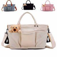 Diaper Bags Waterproof Bag Large Capacity Mommy Messenger Travel Designer Multifunctional Maternity Mother Baby Stroller