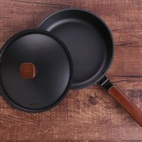 Non Stick Frying Pan Fried Egg Cooker For Home Breakfast Pancake Pizza Cooking Tool Kitchen Utensils Pans