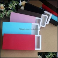 Wrap Event Festive Party Supplies Home & Garden22.9*11*4.5Cm Kraft Flower Gift Packaging Packing For Socks Scarf  Underwear Carton Paper Box