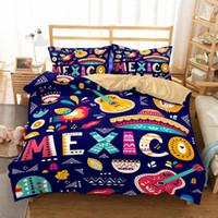 Bedding Sets Guitar Music Set Bedroom Decor Boys Girls Gifts Duvet Comforter Cover Quilt 2 3 Pieces Bedspread Pillowcases