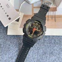 Роскошный Японский G110 Спортивные Часы Военные Влиятельные Бренд Час Рука Светодиодный Хронограф Водонепроницаемый Силиконовый Кемпинг