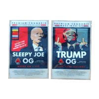 Obama Runtz 3.5G Trump OG Sleepyy Joe Biden Zipper Stand Su Basock 420 Borse per imballaggio in plastica per imballaggio in plastica