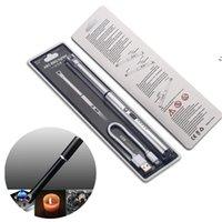 Arco BBQ Isqueiro Elétrico USB Recarregável Charge Charge Segurança Interruptor à prova de vento para cozinha ao ar livre BBQ LLD9848