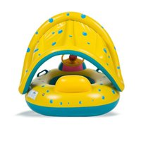 Inflatable Floats & Tubes OUTAD High Quality Safety Baby Infant Swimming Float Adjustable Sunshade Seat Boat Ring Swim Pool Accessories