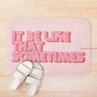 Mat It Be Like That Sometimes Pink Custom One Direction Doormat Home Decor Door Floor Bath Mats Foot Pad