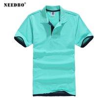 Воспитательская рубашка поло хлопок плюс размер тонкий рубашка высококачественные майки майки марки мужчины рубашка поло с коротким рукавом t летом поло homme 210329