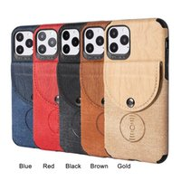 Shockproof Phone cases Magnetic absorption For iPhone 12 11 pro xs max 7 8 plus PU leather Wallet back cover
