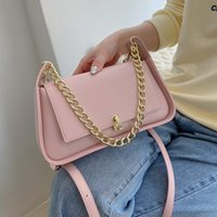 Shoulder Bags Chain Underarm For Women 2021 Mini Pu Leather Crossbody Bag And Purse Female Hourglass Handbags Fashion