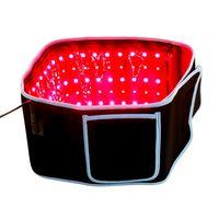 새로운 디자인 슬리밍 허리 벨트 붉은 빛 적외선 치료 벨트 통증 완화 Lllt Lipolysis 바디 쉐이핑 660nm 850nm lipo 레이저