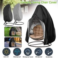 Chair Covers Hanging Swing Cover Waterproof Patio Egg With Drawstring For Outdoor Dust