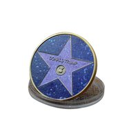 Customized 2024 Donald Trump Pentagram Commemorative Coins Commemorative Coin for Trump Campaign Speech Supporters OWD8624