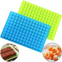 Baking Moulds 126 Cavity Square Silicone Molds Gummy Pralines Caramels Candy Making Mold Cake Decorating Tools Chocolate Jelly Ice Tray