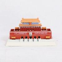 Souvenir China Wind Temple of Heaven Model Tian'anmen Metal Ornaments Fair Sales Gefts