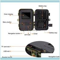 사냥 스포츠 야외 싱크 카메라 카메라 IR LED 야간 투시경 캠코더 방울 배송을위한 방수 스카우팅 2021 81CS2