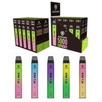 ALPSVAPE BY2 MAX 5000 BUFFS Sigarette Sigarette Dispositivo di pod monouso Dispositivo inferiore Ricaricabile 10 FLAS per scegliere