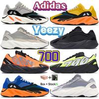 700 v1 v2 tênis running reflexivo Sol brilhante azul sólido cinza laranja tie-tintura corredor carbono azul estático preto homens homens mulheres sapatilhas