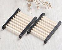 Supporto per sapone in legno Bagno Hotel Domestica Drenaggio singolo strato Drenaggio Sapone Scatola sapone a mano CCA7292