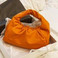 80% Off Интернет-магазин Облако сумка Женская Большая емкость Круассан 2021 Новый Год Одно плечо Посланника Рука Trend Плиссированные Кожаные Прямые продажи