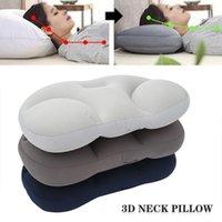 Pillow 3D Neck Creative Head Rest Deep Sleep Air Cushion Pressure Relief Pillows Washable Pillowcase Home Textile