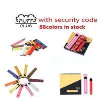 Einweg-E-Zigaretten-Puffet-Puff-Bar plus 800+ Pod-Patrone 550mAh Multiple 80 Farben Batterie 3.2ml Vorgefüllte VAPE-Pods-Stick Portable Vaporizer vs Bang XXL