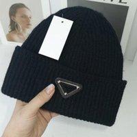 متعدد الألوان محبوك قبعات للرجال النساء الخريف الشتاء الدافئة سميكة الصوف المصممين إلكتروني قبعة الباردة زوجين أزياء الشارع القبعات
