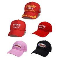 Nowy Trump 2024 Czapka Haftowana czapka z daszkiem z regulującym pasem Design Outdoor Travel Sports Visor Cap Hurtownie